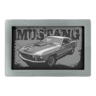 Mechanischer Power des Mustangs Rechteckige Gürtelschnalle