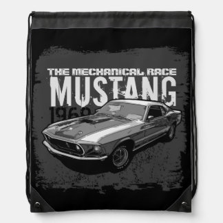 Mechanischer Power des Mustangs Sportbeutel