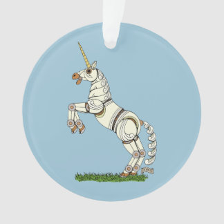 Mechanisches Einhorn Ornament