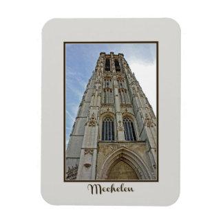 Mechelen Kathedrale Belgien Magnet