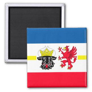 Mecklenburg-Vorpommern Flagge Kühlschrankmagnet