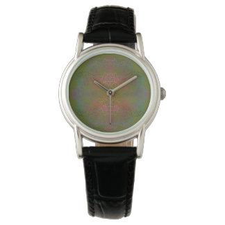 Medaillon Batikish - Olive Armbanduhr