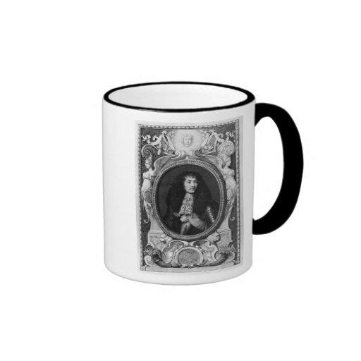 Medaillon-Porträt von Louis XIV Kaffeehaferl