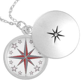 "Medaillon ""Sea Breeze"" Compass"