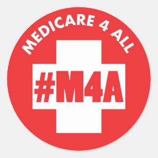Medicare 4 aller #M4A Aufkleber