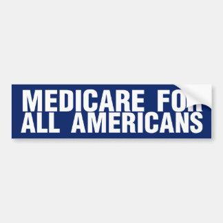 Medicare für alle Amerikaner Autoaufkleber