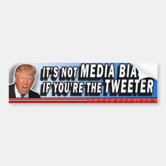 Medien beeinflussen Tweeter Autoaufkleber