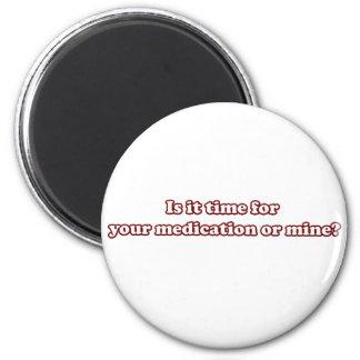 Medikation Runder Magnet 5,1 Cm