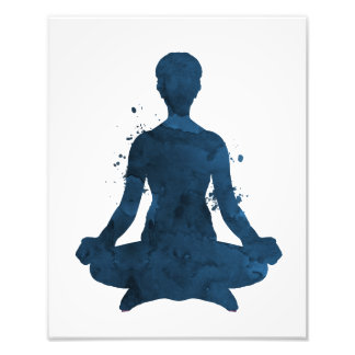 Meditation Fotodruck