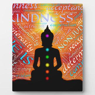 Meditation Fotoplatte
