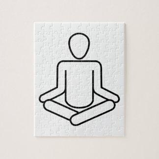 Meditation-Logo Puzzle