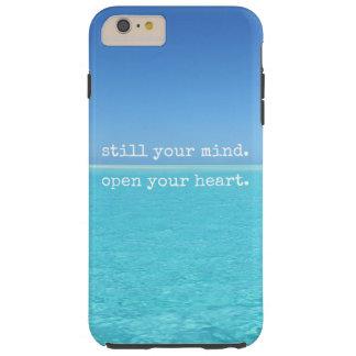 Meditation noch Ihr Sinnesoffenes Herz Tough iPhone 6 Plus Hülle