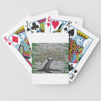 Meditations-Liebe-Baum Bicycle Spielkarten