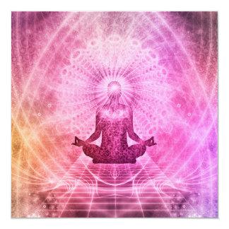 Meditations-Yoga-Art Karte