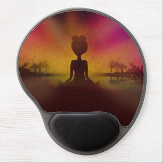 Meditations-Yoga-Gel-Mausunterlage Gel Mouse Matte