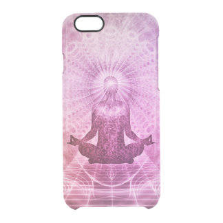 Meditations-Yoga-Glaube Durchsichtige iPhone 6/6S Hülle