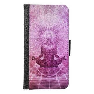 Meditations-Yoga-Glaube Geldbeutel Hülle Für Das Samsung Galaxy S6
