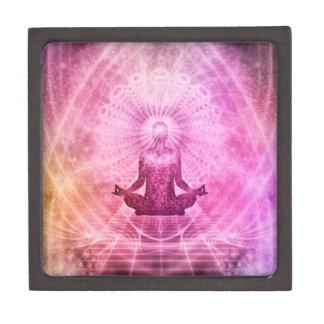 Meditations-Yoga-Glaube Kiste