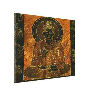 Meditierendes Buddha3 dehnte Leinwand-Druck aus Gespannter Galeriedruck