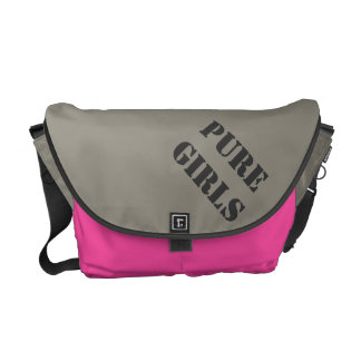 medium BAG sheer - PURE GIRLS Kurier Taschen