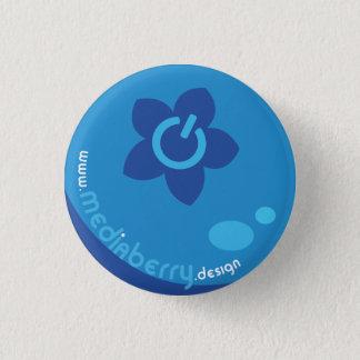 Medium-Beeren-Entwurfs-Knopf Runder Button 3,2 Cm