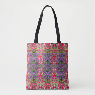 Medium des Kaleidoskop-Blumen-Muster-20 Tasche