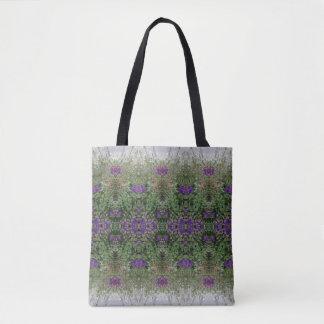 Medium des Kaleidoskop-Blumen-Muster-26 Tasche