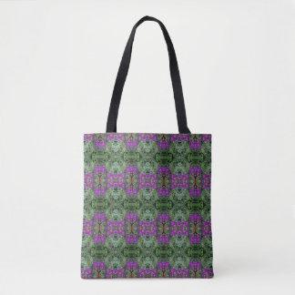 Medium des Kaleidoskop-Blumen-Muster-28 Tasche