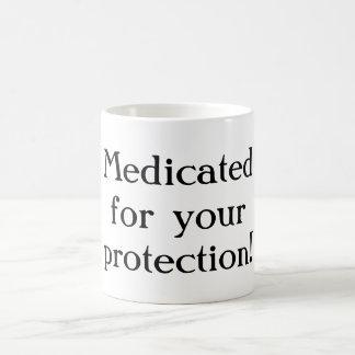 Medizinisch behandelt für Ihre Schutz Tasse