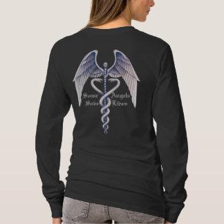 Medizinisch retten einige Engel Lifes Damen langen T-Shirt