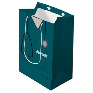 Medizinisch scheuert aquamarines MGB Mittlere Geschenktüte