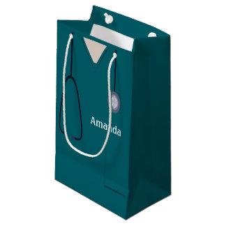 Medizinisch scheuert aquamarines SGB Kleine Geschenktüte