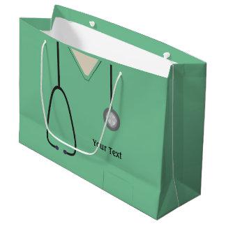 Medizinisch scheuert Geschenk-Tasche Doktor-Nurse Große Geschenktüte