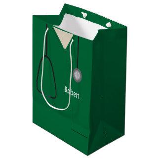 Medizinisch scheuert grünes MGB Mittlere Geschenktüte
