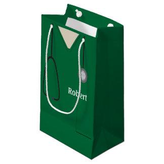 Medizinisch scheuert grünes SGB Kleine Geschenktüte