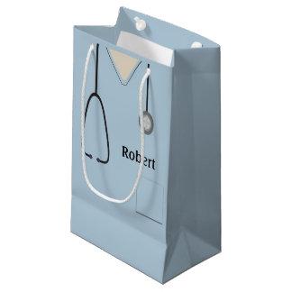 Medizinisch scheuert hellblaues SGB Kleine Geschenktüte