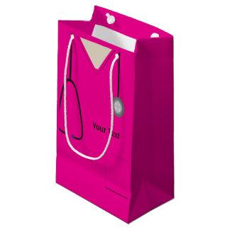 Medizinisch scheuert Pink Sml Geschenk-Tasche Kleine Geschenktüte