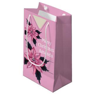 Medizinisch scheuert Weihnachten rosa SGB Kleine Geschenktüte