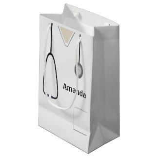 Medizinisch scheuert weißes SGB Kleine Geschenktüte