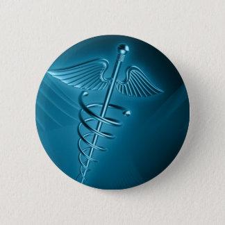 Medizinisch u. Notfall behandelt Innere Medizin Runder Button 5,7 Cm