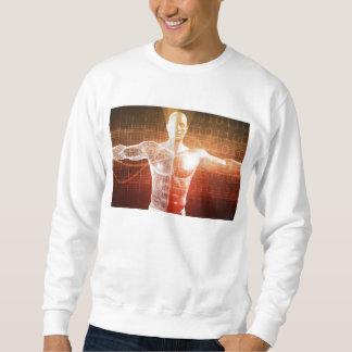 Medizinische Forschung auf dem menschlichen Körper Sweatshirt