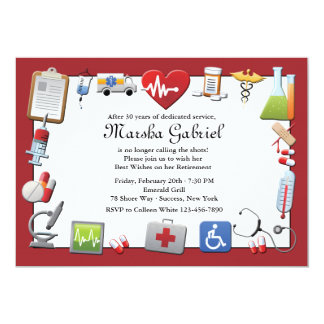 Nurse Retirement Invitations was awesome invitation example