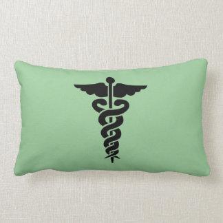 Medizinische Symbol-Krankenschwestern und Doktoren Lendenkissen