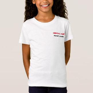 Medizinische wachsame Erdnuss-Allergie T-Shirt