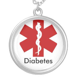 Medizinische wachsame Halskette Identifikation - D