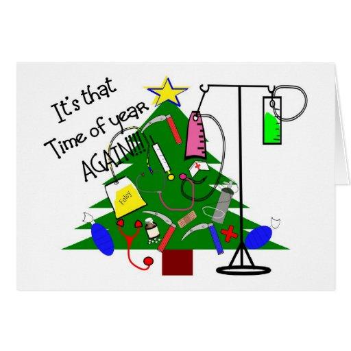 medizinische weihnachtsbaum geschenke lustig karten zazzle. Black Bedroom Furniture Sets. Home Design Ideas