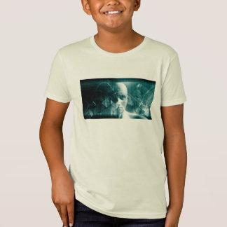 Medizinische Wissenschafts-futuristische T-Shirt