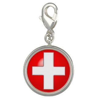 Medizinischer Alarm - Rot Charm