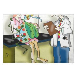 Medizinischer Cartoon 9517 Tischset