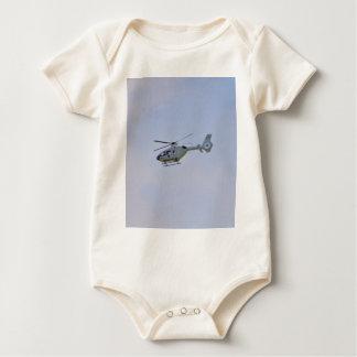 Medizinischer Hubschrauber Baby Strampler